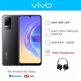Vivo V21e Mobile Phone 6.44-inch Screen 8GB RAM and 128GB Storage