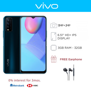 Vivo Y12a Mobile Phone 6.51-inch Screen 3GB RAM and 32GB Storage