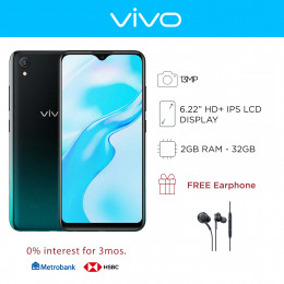 Vivo Y1s Mobile Phone 6.22-inch Screen 2GB RAM and 32GB Storage