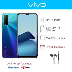 Vivo Y20i Mobile Phone 6.51-inch Screen 4GB RAM and 64GB Storage