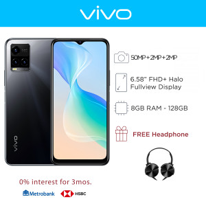 Vivo Y33s Mobile Phone 6.58-inch Screen 8GB RAM and 128GB Storage